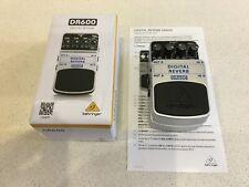 More details for behringer dr600 digital reverb effects pedal in mint condition