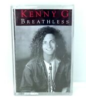 KENNY G BREATHLESS Audio Cassette Tape
