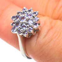 Tanzanite 925 Sterling Silver Ring Size 6.75 Ana Co Jewelry R62075F