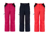 Dare2b Girls Kids Freestand Waterproof Breathable Ski Trousers Salopettes Pink