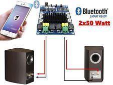 Module Amplificateur de puissance 2X 50 Watt avec Bluetooth 4.0 Audio Stéréo