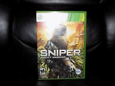 Sniper: Ghost Warrior (Microsoft Xbox 360, 2010) EUC FREE USA SHIPPING