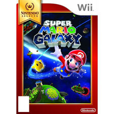 Wii Super Mario Galaxy Marios Biggest Adventure yet MINT Disc Nintendo PAL