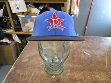 VINTAGE NEGRO LEAGUE DETROIT STARS FITTED FLAT BRIM BLUE / RED COLOR SIZE 7-3/8