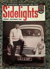 Vintage Sidelights BMC Drivers Club Magazine Vol 5 No 10 1965
