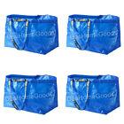 IKEA FRAKTA 4 x Large Reusable Eco Bag Shopping Laundry Tote Travel Storage Bags