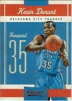 Panini Classics Basketball Trading Card 2010/11 Carte Numéro 33 Kevin Durant