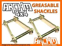 ARCHM4X4 REAR GREASABLE SHACKLES FOR TOYOTA HILUX IFS 2005-ON KUN26R