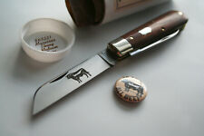 New listing GEC #86 Great Eastern Cutlery Tidioute Angus Jack Medium Rare Macassar Ebony