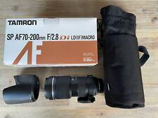 Tamron SP AF 70-200mm f/2.8 Di LD IF Macro (Nikon Fit) Lens
