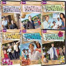 DEATH IN PARADISE the Complete Series DVD Seasons 1-6 Season 1 2 3 4 5 6 - BBC
