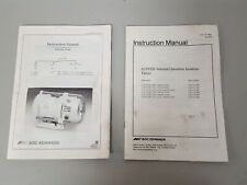 More details for 2x boc edwards xds dry vacuum pump / solenoid user manual / instructions