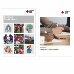 DRK Arbeitsbuch und Handbuch für den Sanitätsdienst