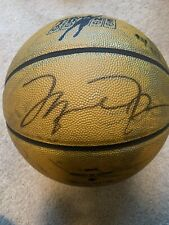Michael Jordan Signed Basketball Upper Deck COA Mr. June Gold UDA Certified Auto