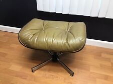 Vintage Eames Herman Miller Plycraft Style Lounge Chair Ottoman