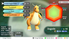 6IV Dragonite Shiny Pokemon Lets go Pikachu Eevee Guide Battle Ready Legit LGPE