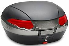 Bauletto Moto Kappa K56n con catadiottri Rossi