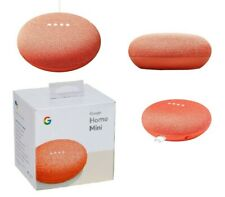 NEW Google Home Mini - Smart Speaker With Google Assistant - Orange