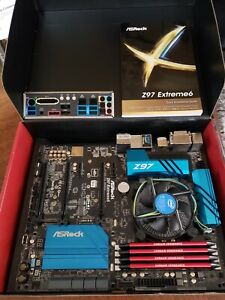 i7 4790K with AsRock Z97 Extreme 6 motherboard combo - 32GB RAM