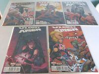 UNCANNY X-MEN (2016 4th Series) Lot of 5 Marvel Comic Books NM