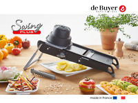de Buyer Swing plus Gemüsehobel schwarz Mandoline Slicer Julienne NEU