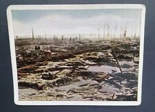 WWI German Cigarette Cards Der Weltkrieg Privat #134 Austria Crater Field 1917