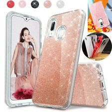 For Samsung Galaxy A20s A20 A50 A71 A10e Shockproof TPU Bling Phone Case Cover
