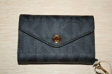 MK Michael Kors Signature Saffiano Leather iPhone 4 Wristlet Black MSRP $78 NWT