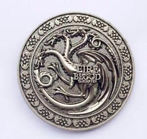 Game of Thrones Wolf Belt Buckle Handmade in Fine English Pewter Stark Sigil