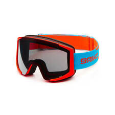 Briko Lava XL Ski Goggle - Flouro Orange Blue