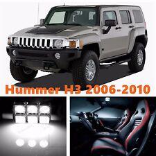 13pcs LED Xenon White Light Interior Package Kit for Hummer H3 2006-2010