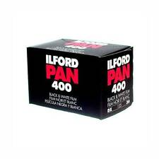USD - 3 Rolls Ilford Pan 400 iso Black & White 35mm Film FreeShipping 135 36exp
