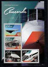 Liberia 2014 MNH Concorde 4v M/S Aviatian Planes Airplanes Aerospatiale-BAC