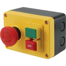 Magnetic On Off Power Machine Switch, Surface Mounted rated to 1/2 HP 120V 16A