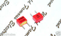 10pcs - WIMA FKP2 680P (0.68nF) 630V 2.5% pich:5mm Polypropylene Foil Capacitor
