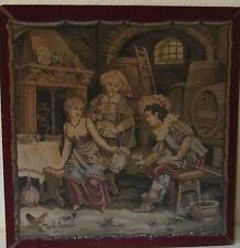 Gobelin Wandbehang Wandteppich Bild antik