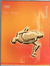Orig.Komplette PRG     Olympische Spiele SYDNEY 2000  -  RINGEN  !!  SEHR SELTEN