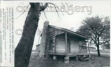 1970 W. C. Handy Birthplace Cabin Florence Alabama Press Photo