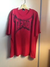 Authentic Tap Out Shirt XXL Red Black Mma