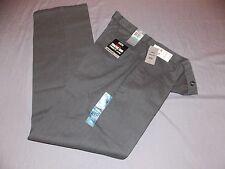 mens dockers signature khaki pants 34x34 nwt $58 gray stripe