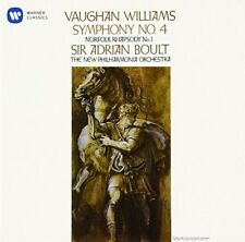 Vaughan Williams - Vaughan Williams: Symphony 4 [New CD] Japan - Import