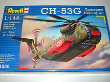 Revell 04858 - CH-53 G Heavy Transport Helicopter - 1:144 Plastic Kit Aircraft