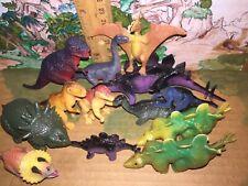 Dinosaur mini toy figure lot, Ukrd etc. 1986-1998