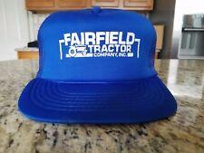 FAIRFIELD TRACTOR COMPANY INC. COMBINE FARMING MESH TRUCKER HAT SNAPBACK SC