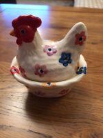 Emma Bridgewater Small Hen Coddler Flowers