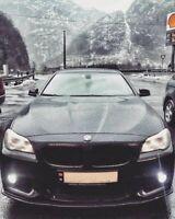 For BMW 5 series F10 F11 Front Sport M bumper valance chin lip splitter
