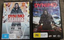 DYNAMO: MAGICIAN IMPOSSIBLE SEASON ONE & TWO - DVD RARE R4 PAL OOP DELETED
