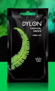 DYLON Permanant Fabric Dye Hand Dye - Tropical GREEN- 50 gram