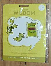Disney Store Wisdom Jiminy Cricket Pins Set 7/12 July Pinocchio Limited Releas