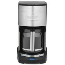 Cuisinart Coffee Maker |DCC3650C| 12 cup, stainless steel & black